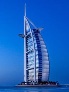 Burj Al Arab - luxury hotel destinations